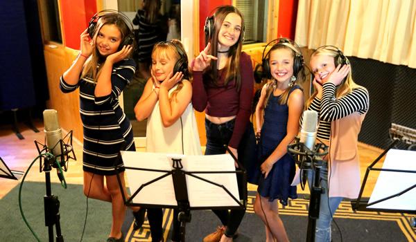 Popkids Recording Studio Party