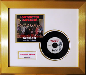 CD Framed Presentation Disc